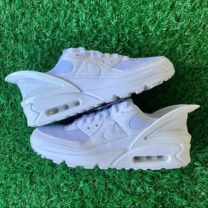 Nike Air Max 90 Flylease All White